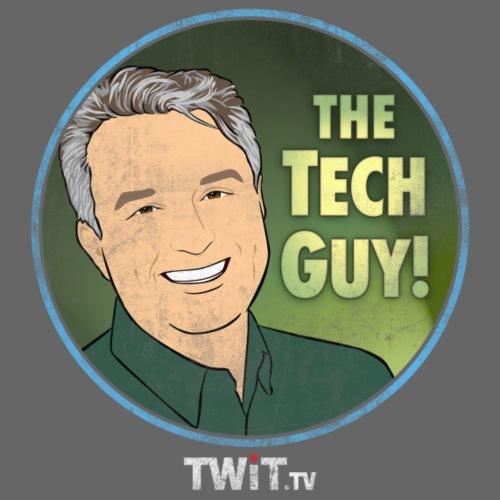 The Tech Guy Album Art Distressed - Men's T-Shirt