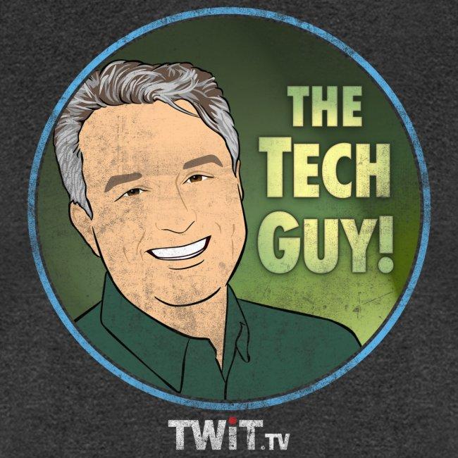The Tech Guy Album Art Distressed