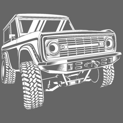 1976 Classic Bronco Truck T-shirt - Men's T-Shirt