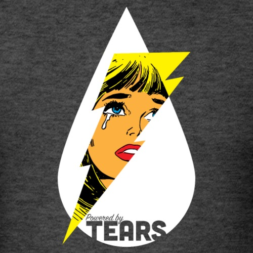 Powered by Tears 4-01 - Men's T-Shirt