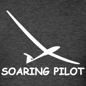 soaring pilot - Men's T-Shirt