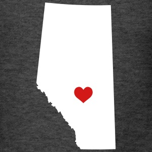 My heart is in Alberta - Men's T-Shirt