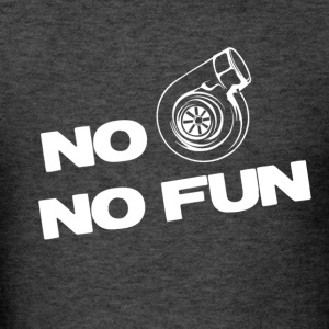 No turbo no fun - Men's T-Shirt