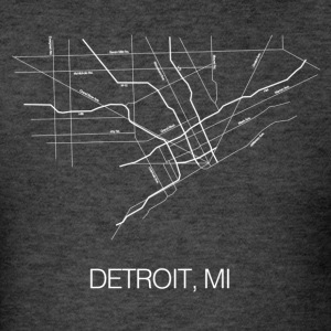 Detroit, MI - Men's T-Shirt