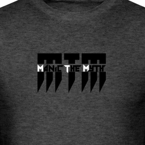 MTM Manic The Myth logo - Men's T-Shirt