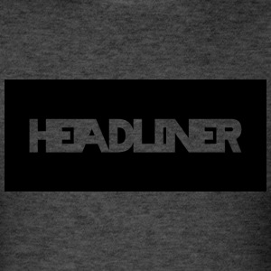 Black And White Headliner Logo - Men's T-Shirt