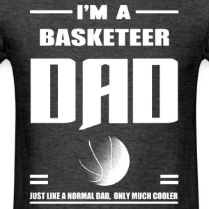 i m a basketeer - Men's T-Shirt