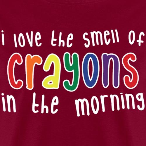 Crayons dark - Men's T-Shirt