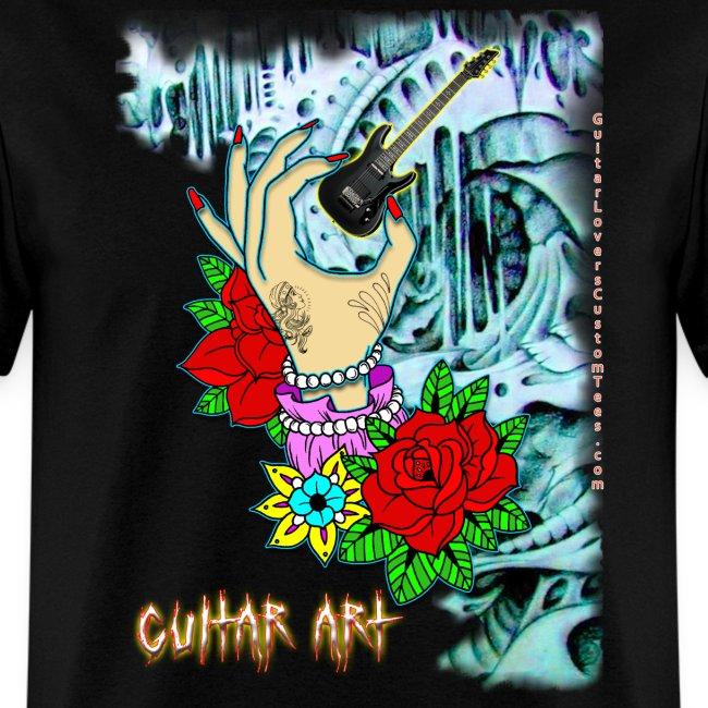 GuitarArt by GuitarLoversCustomTees png