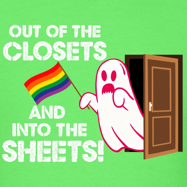 Out of the Closets Pride Ghost
