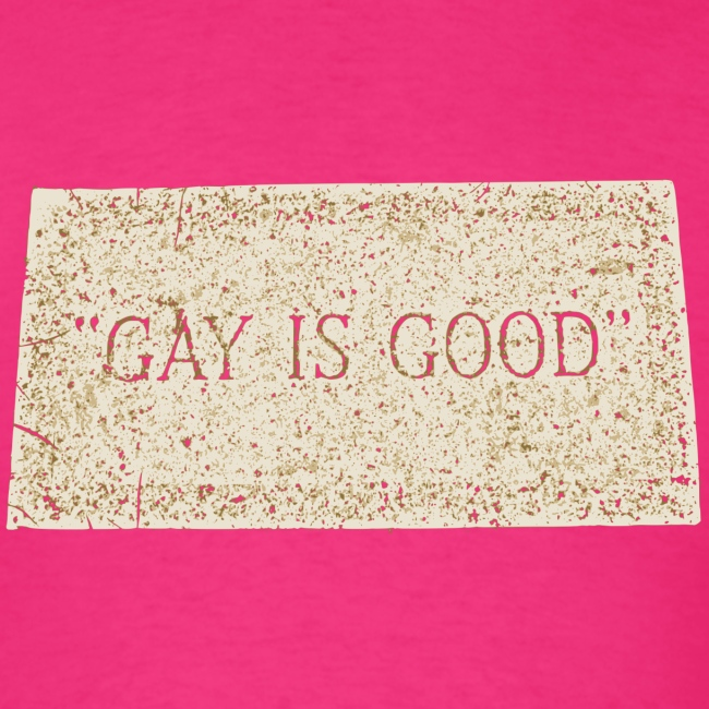gay is good grave