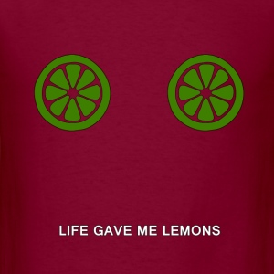 Life gave me lemons. - Men's T-Shirt