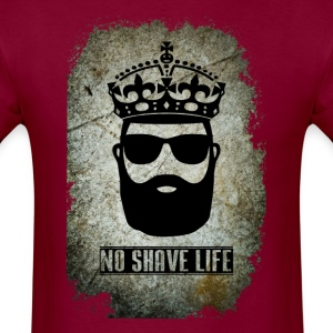 No Shave Life Beard - Men's T-Shirt