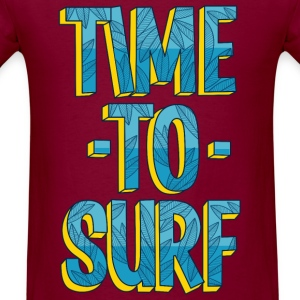 Time to surf - Men's T-Shirt