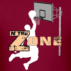 Basketball Zone - Men's T-Shirt