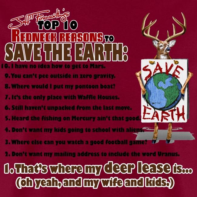 top ten save earth