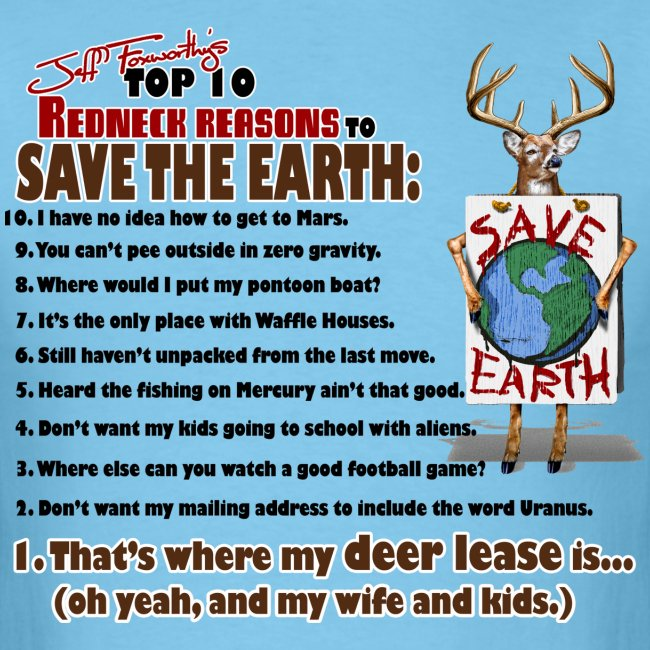 top ten save earth