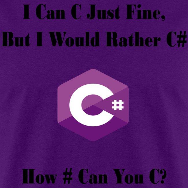 C Sharp Funny Saying