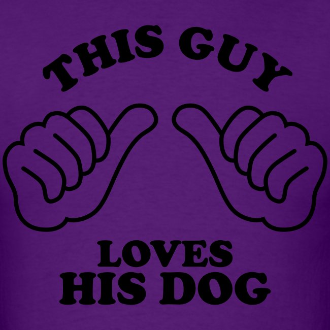 Two Thumbs Guy Dog