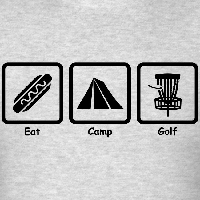 Eat Camp Disc Golf Copyright Kathleen Loraine