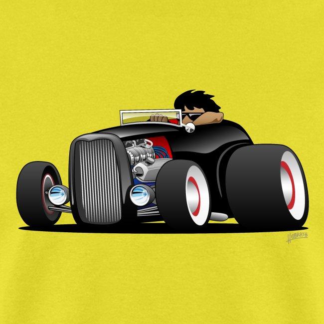 Classic Street Rod Hi Boy Roadster Cartoon