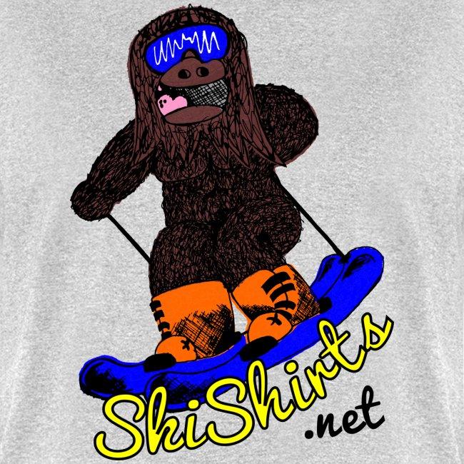 SkiShirts Sasquatch Logo