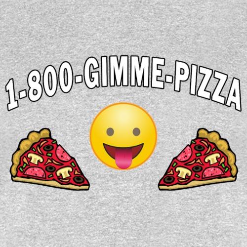 1 800 Gimme Pizza, Mozzarella Pepperoni Pizzeria. - Men's T-Shirt