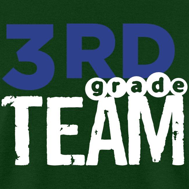 Bold 3rd Grade Team Teacher T-Shirts