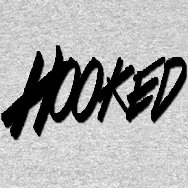 Hooked black logo