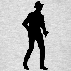 Singer and Dancer Silhouette vector design - Men's T-Shirt