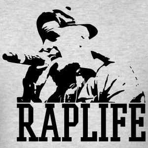 Raplife - Men's T-Shirt