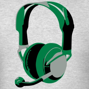 Gaming Headphones - Men's T-Shirt