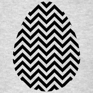Black Easter Egg Chevron - Men's T-Shirt