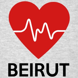 Heart Beirut - Men's T-Shirt