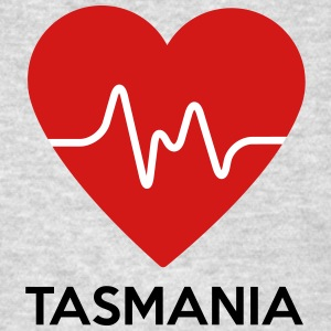 Heart Tasmania - Men's T-Shirt