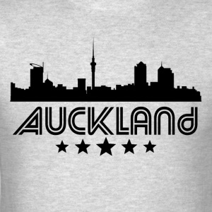 Retro Auckland Skyline - Men's T-Shirt