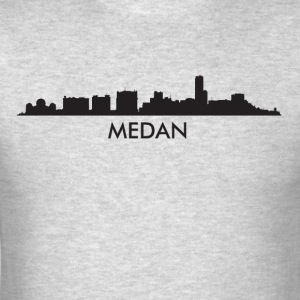 Medan Indonesia Skyline - Men's T-Shirt