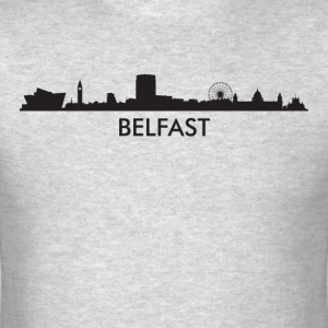 Belfast Northern Ireland Skyline - Men's T-Shirt