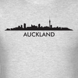 Auckland New Zealand Skyline - Men's T-Shirt
