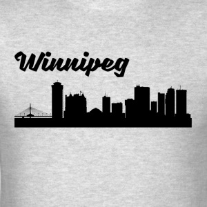 Winnipeg Skyline - Men's T-Shirt