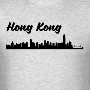 Hong Kong Skyline - Men's T-Shirt