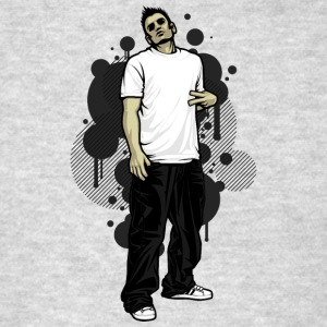 street_break_dancer - Men's T-Shirt