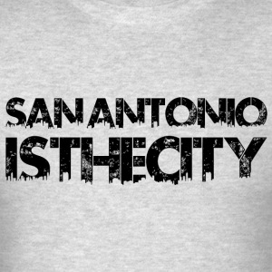 San Antonio IstheCITY Black - Men's T-Shirt