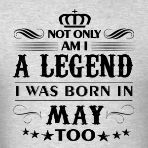 May month Legends tshirts - Men's T-Shirt