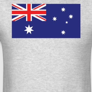 Flag of Australia Cool Australian Flag - Men's T-Shirt