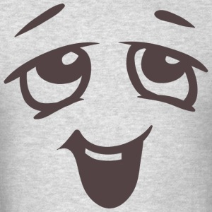 Relaxed face - Emotional face - Men's T-Shirt