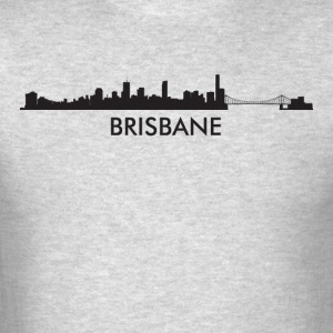 Brisbane Australia Skyline - Men's T-Shirt