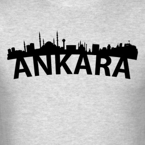 Arc Skyline Of Ankara Turkey - Men's T-Shirt