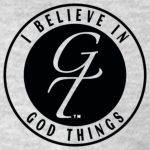 I Believe In God Things Classic Design - Men's T-Shirt