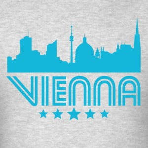 Retro Vienna Skyline - Men's T-Shirt